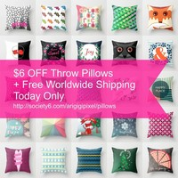 pillows 6$ OFF + Free Shipping by ArigigiPixel