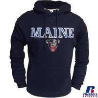 University Bookstore - Russell® Maine Black Bear Hoodie