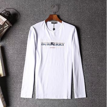 Burberry Men or Women Fashion Casual Long Sleeve Top Sweater Pullover