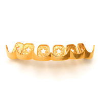 Sharp Cut Premium Upper Grillz