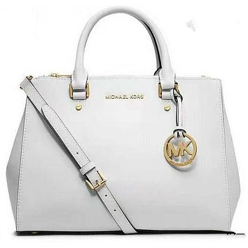 Chenire MICHAEL KORS Women Shopping Fashion Leather Satchel Shoulder Bag Crossbody G-LLBPFSH
