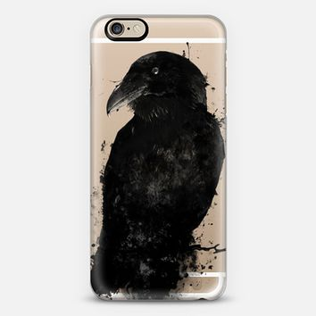 The Raven - Transparent iPhone 6s case by Nicklas Gustafsson | Casetify