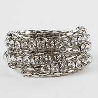 BKE Glitz Coil Bracelet - Women's Accessories | Buckle
