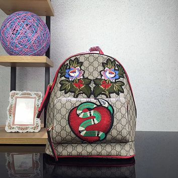 '' GUCCI '' Women Bag Shoulder School Bag Backpack