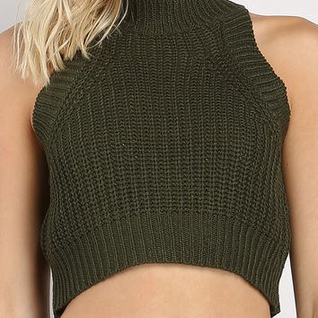 Knit Cami Crop Top