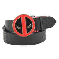 Marvel Deadpool Reversible Belt & Buckle