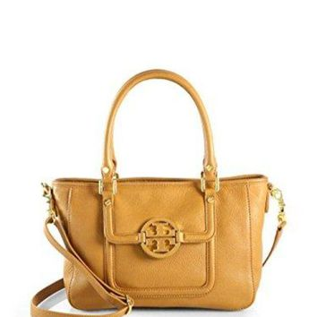 Tory Burch Amanda Mini Satchel In Royal Tan