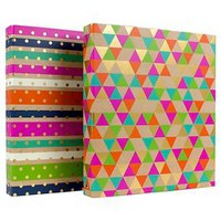 "Greenroom™ 1"" Ring Binder with Hard Cover - Multicolor"