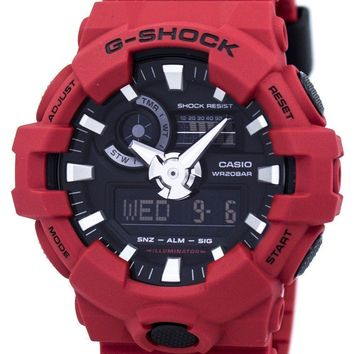 Casio G-Shock Analog Digital 200M GA-700-4A GA700-4A Men's Watch