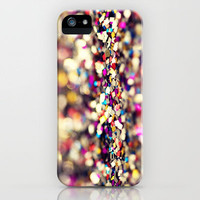 Rainbow Sprinkles - an abstract photograph iPhone Case by Amelia Kay Photography | Society6