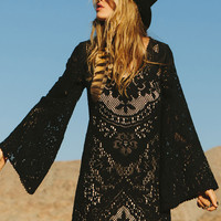 Fleetwood Lace Dress - Black