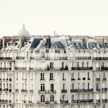 Bonjour Paris Fine art travel photograph by irenesuchocki