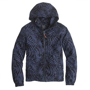 J.Crew Mens X150 Hooded Jacket In Floral