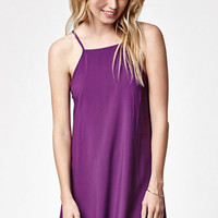 LA Hearts Goddess Neck Slip Dress at PacSun.com