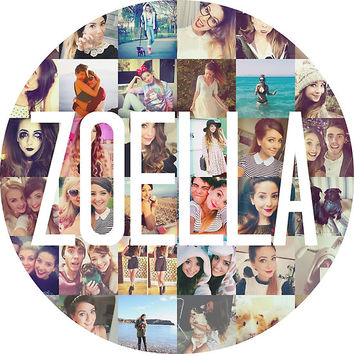 Zoella / Zoe Sugg Circle Collage