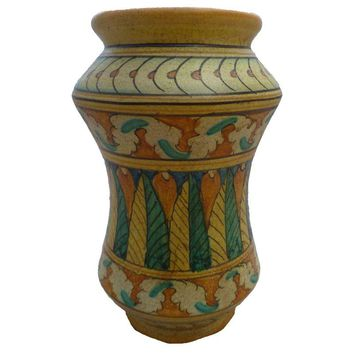 Pre-owned Mid-Century Italian Pottery Vase