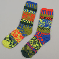 solmate socks - holly recycled cotton socks
