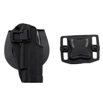 Tactical Colt 1911 M1911 Pistol Paddle & Belt Holster gun holster