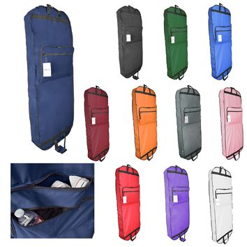 "DALIX 60"" Professional Garment Bag Cover for Suits Pants and Gowns Dresses (Foldable)"