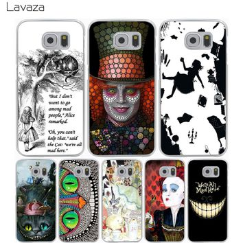 Lavaza Alice in Wonderland Case for Samsung Galaxy A3 A5 A6 A8 J1 J2 J3 J5 J7 Prime 2017 2018 Note 9 8