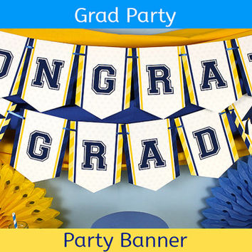 Graduation Banner / Graduation Party Banner / Graduation Decoration