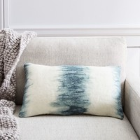 FELT BRUSHSTROKES STRIPE PILLOW COVER