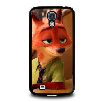 ZOOTOPIA NICK WILDE Disney Samsung Galaxy S4 Case Cover