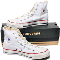 "Womens White ""Converse"" Fashion Canvas Sneakers Sport Shoes"