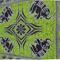 Hippie Hippy Wall Hanging Indian Elephant Tapestry Throw Bedspread Queen Bed Decor Sheet Ethnic Decorative Art