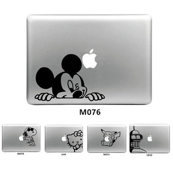 Cute Design Cartoon Vinyl Decal Laptop Sticker for Apple Macbook Air Pro Retina 11 12 13 15 Laptop Skin for Macbook Cover