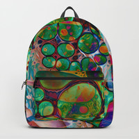 Palm of My Hand Backpacks by Stephen Linhart