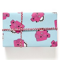 Retro 3D Toys Wrapping Paper