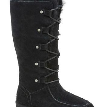 MDIG1O UGG? Australia 'Appalachian' Water-Resistant Lace-Up Tall Boot (Women) (Wide Calf) | N