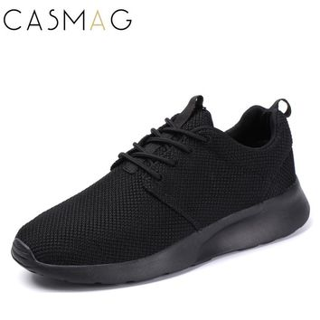 CASMAG New Design Men and Women Easy Running Shoes Outdoor Walking Breathable Mesh Lightweight Sneakers Jogging Shoes Size 36-45