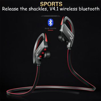 Original Bluetooth Headphones Wireless Headsets Sports Sweatproof Earbuds Hi-Fi Stereo Earphones Strong Bass Headsets 10H Playti