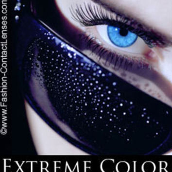 Eclipse Color Aqua Contact Lenses - for a aqua eye color