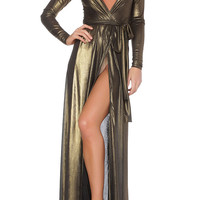 Georgina Evening Gown- Metallic
