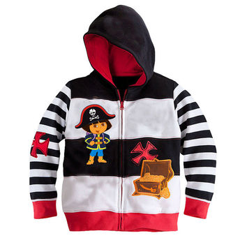 2015 new autumn boys clothing classic models hoodies sweater zipper jacket Kids Batman coats children clothes