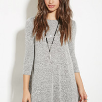 Marled Sweater Dress