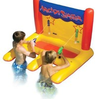 Swimline Dual Arcade Shooter Inflatable Pool Toy:Amazon:Patio, Lawn & Garden