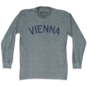 Vienna City Vintage Long Sleeve T-shirt
