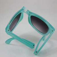 Foldable Jelly Color Sunglasses