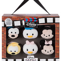 Disney Store 30th Anniversary Mickey & Friends Tsum Plush Set New with Box