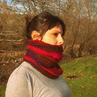 Mix colour Scarf, Necklace,collar,long shawl , scarves ,stole,handmade,crochet,gift for her,necklace,warm