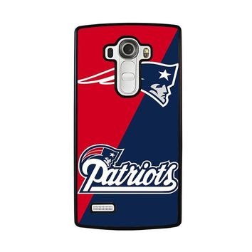 new england patriots lg g4 case cover  number 1