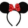 Minnie Mouse Ears - Animal Ears Noses & Tails - SHOP COSTUME ACCESSORIES - Costumes Wigs Theater Makeup and Accessories