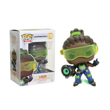 Funko Overwatch Pop! Games Lucio Vinyl Figure