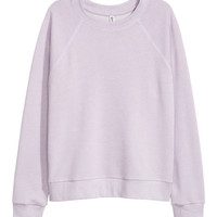 Washed Sweatshirt - from H&M