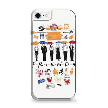 FRIENDS Collage Drawing iPhone 6 | iPhone 6S Case