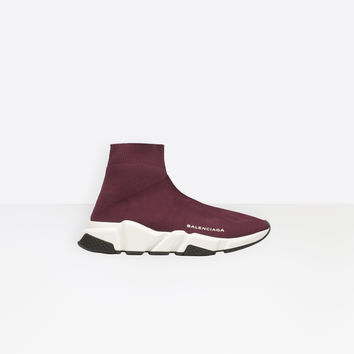 Balenciaga Speed Trainers | Prune | Women's Speed Shoes